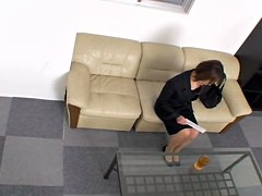 Skinny Jap screwed fast and creampied in hidden cam video