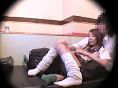 Hardcore doggystyle fuck in spy cam Japanese sex video