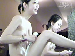 Nude Asians unconscious erotic on the spy shower cam dvd 03031