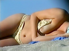 Bikini nipple slip