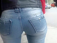 Nothing else can fit in those jeans