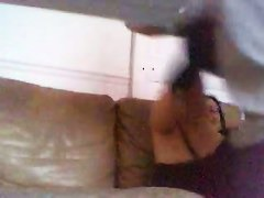 A private spy cam sex tape of a couple