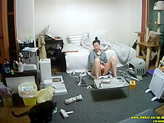 Ip Camera Kr # - Korean Mom Masturbation #2