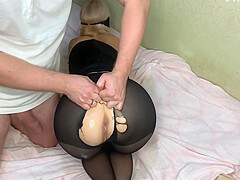 Stepfather Fucked His Stepdaughter In The Ass After School With Feralberryy