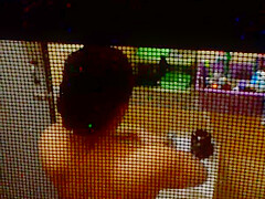 Spying on my sister in law in the shower part 2