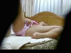 Hidden Asian girl Masturbation