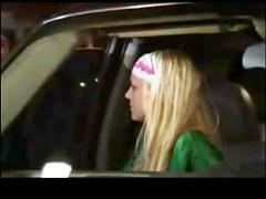 Britney Upskirtin Car by TROC