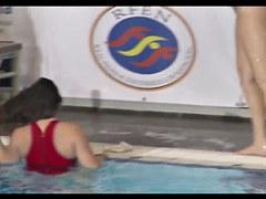 spanish waterpool ass exposing 1