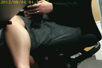 Office upskirt Sex Picture